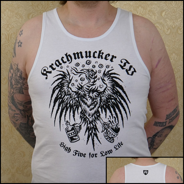 High Five for Low Life - Krachmucker-Tank-Top/ Wifebeater