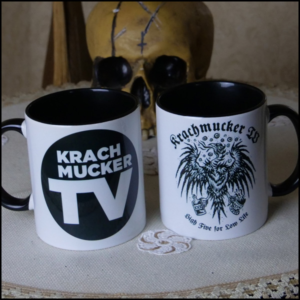 High Five for Low Life - Krachmucker-Tasse